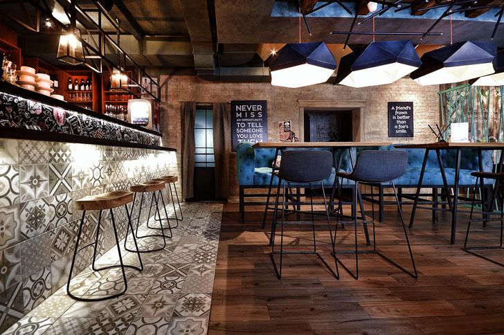 """bar rolls novinka allartsdesign design cafe indiaartndesign"""