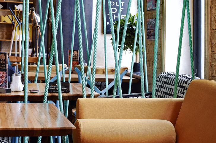 """seat rolls novinka allartsdesign design cafe indiaartndesign"""