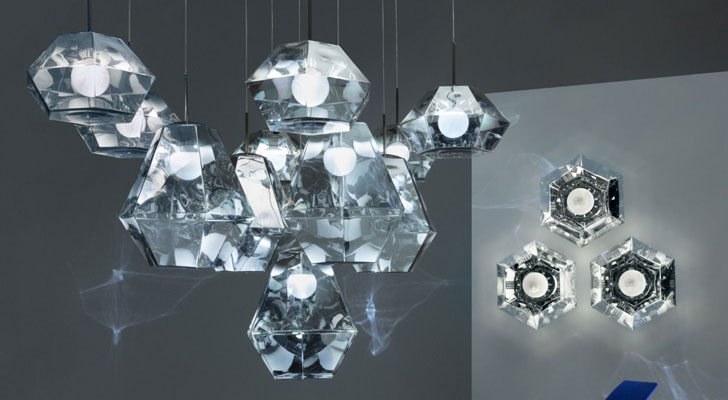 Sparkling diamonds by Tom Dixon