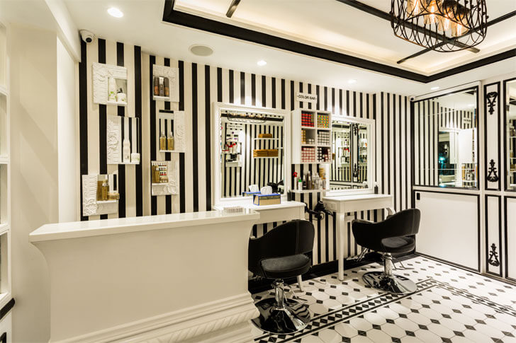 """striped walls monochrome there she glows sumesshmenonassociates indiaartndesign"""