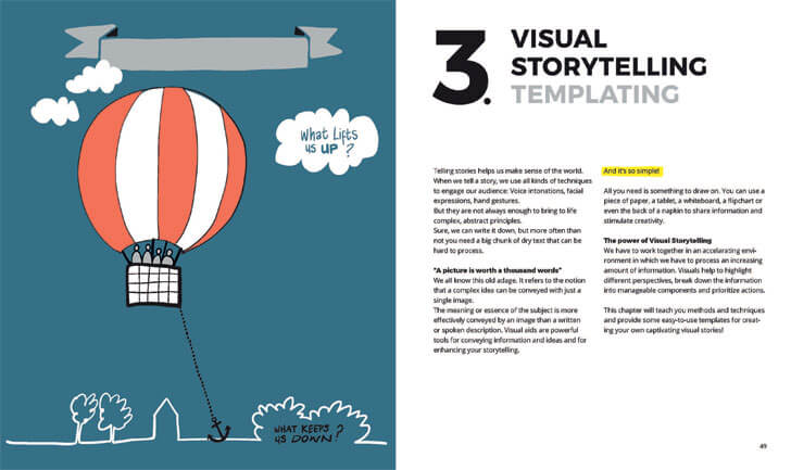 """visual storytelling templating visual thinking willemien brand bis publishers indiaartndesign"""