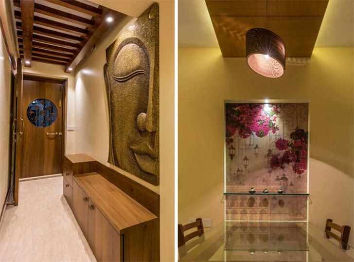 """""""entrance dining apartment904 istudio architecture indiaartndesign"""""""