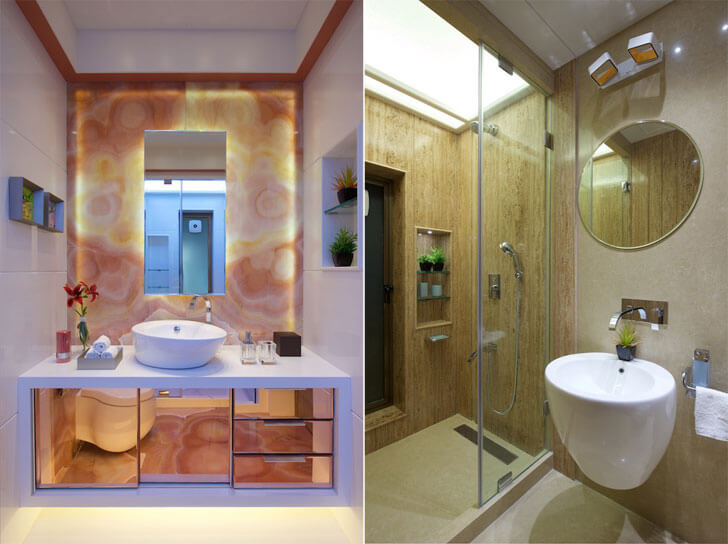 """bathrooms amit shastri architects indiaartndesign"""