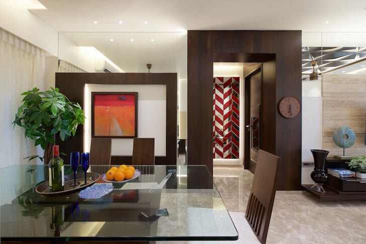 """dining area amit shastri architects indiaartndesign"""