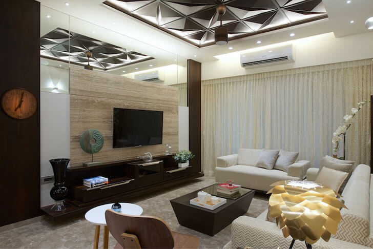 """plush living room amit shastri architects indiaartndesign"""