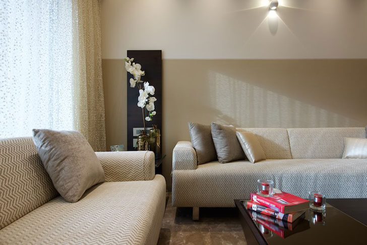 """plush living room detail amit shastri architects indiaartndesign"""