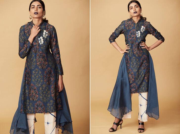 """""""straight pants bandhini anoli shah indiaartndesign"""""""