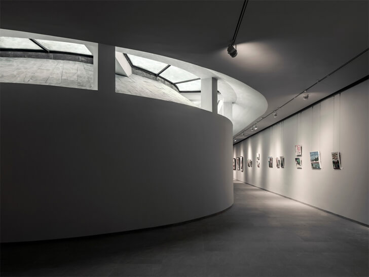 """exhibition spaces interior sanbaopeng art museum DL atelier indiaartndesign"""