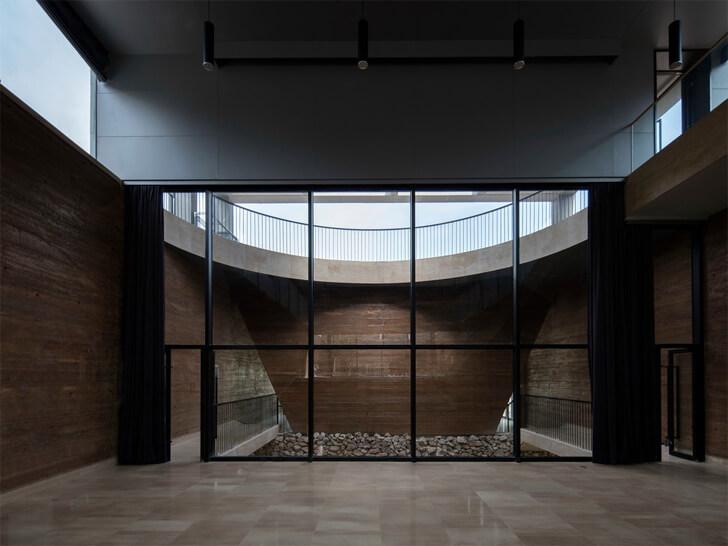 """""""skylight sanbaopeng art museum DL atelier indiaartndesign"""""""