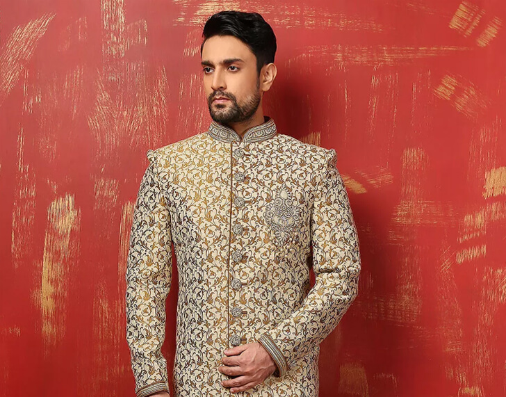 """menswear jodhpuri jacket utsav fashion indiaartndesign"""