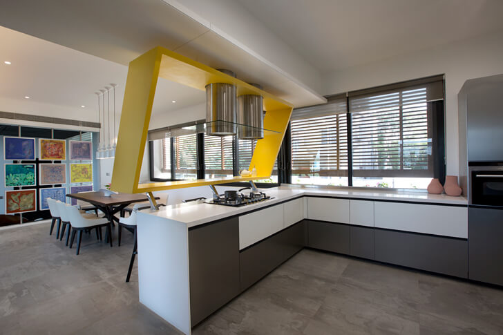 """kitchen long house sunil patil architects indiaartndesign"""
