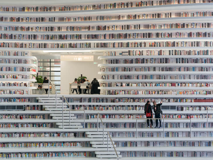 """hidden spaces tianjin binhai library MVRDV indiaartndesign"""