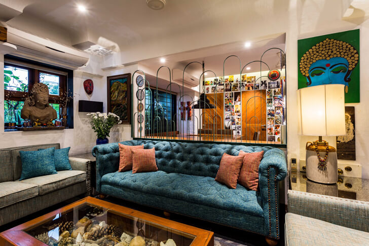 """living room the orange lane indiaartndesign"""