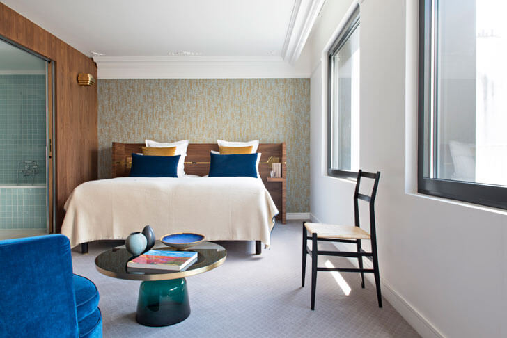 """Hotel Parister guest room 1 Beckmann n thepe indiaartndesign"""