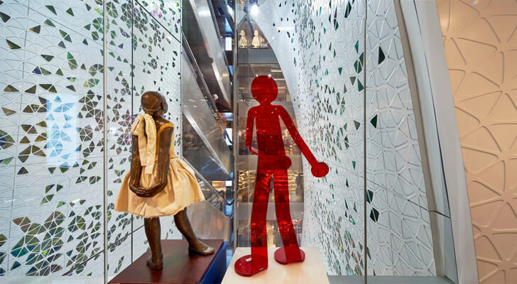 """printemps outside new atrium uufie studio indiaartndesign"""