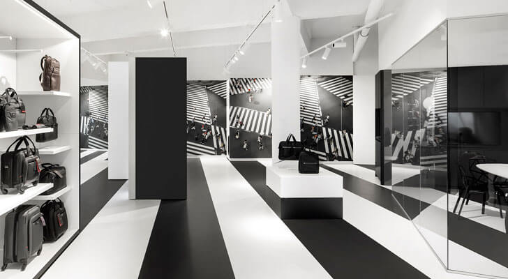 """samsonite store i29architects indiaartndesign"""