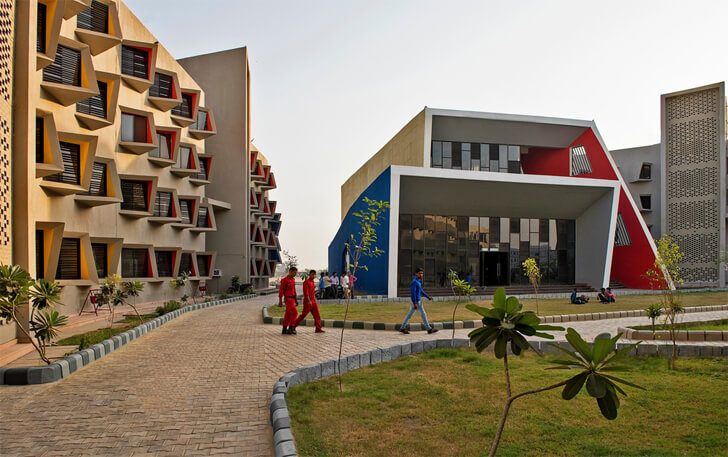 """GLA university campus the street sanjay puri architects indiaartndesign"""