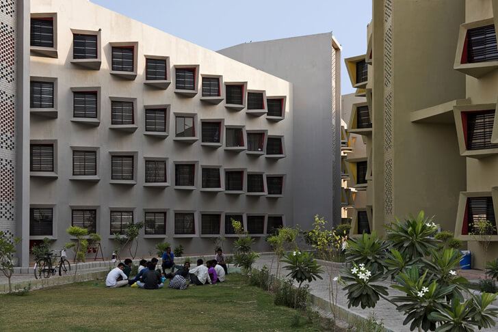 """GLA university the street sanjay puri architects indiaartndesign"""