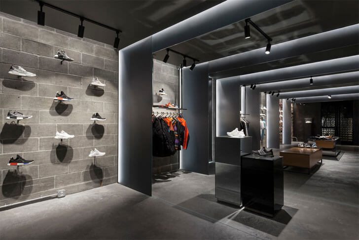 """concrete finish adidas sid lee architecture indiaartndesign"""