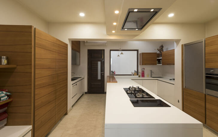 """island kitchen residence studio ardete indiaartndesign"""
