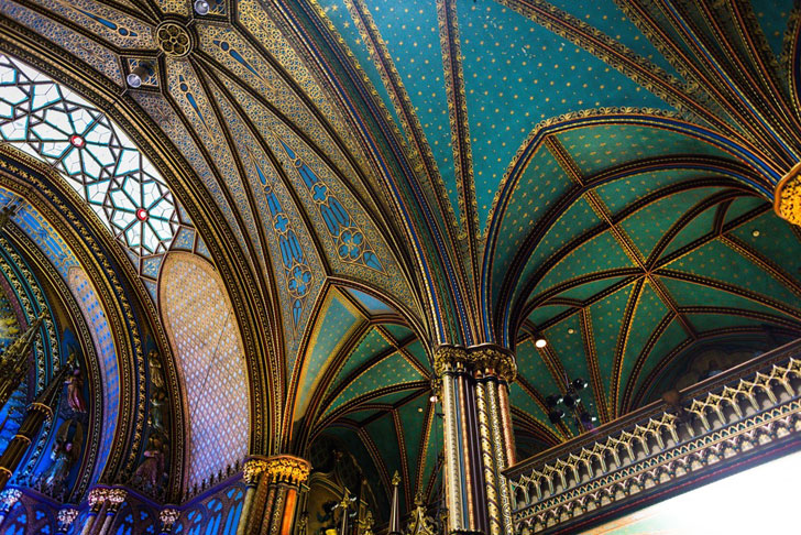 """notre dame basilica ceiling moment factory indiaartndesign"""