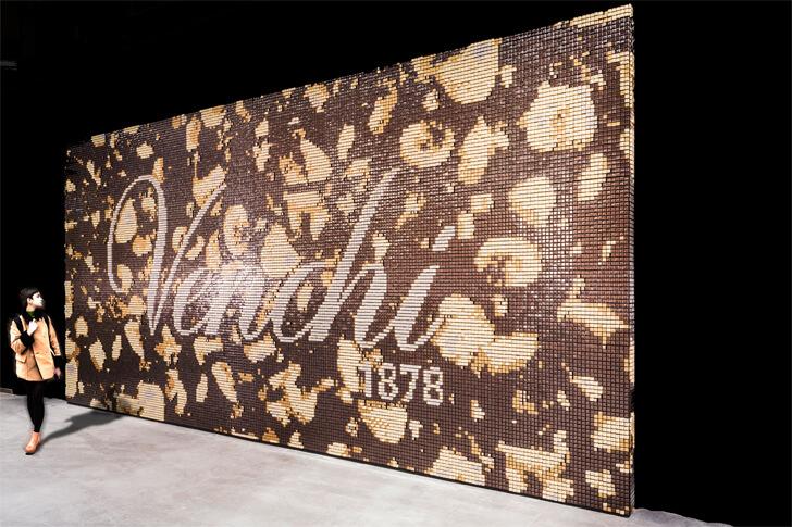 """venchi chocolate pavilion building carlo ratti indiaartndesign"""