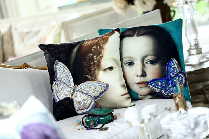 """cushions vintage collection casa pop indiaartndesign"""