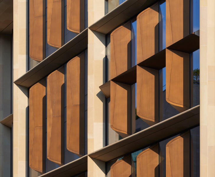"""LDN building facade detail foster and partners indiaartndesign"""