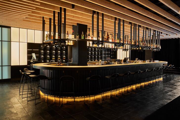 """""""bar izakaya roomers hotel concrete indiaartndesign"""""""