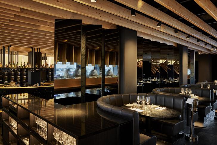 """restaurant izakaya roomers hotel concrete indiaartndesign"""