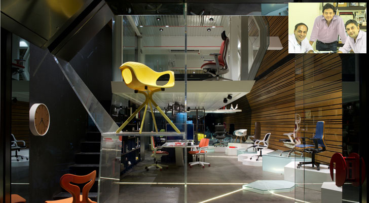 """chair showroom KNS Architects indiaartndesign"""