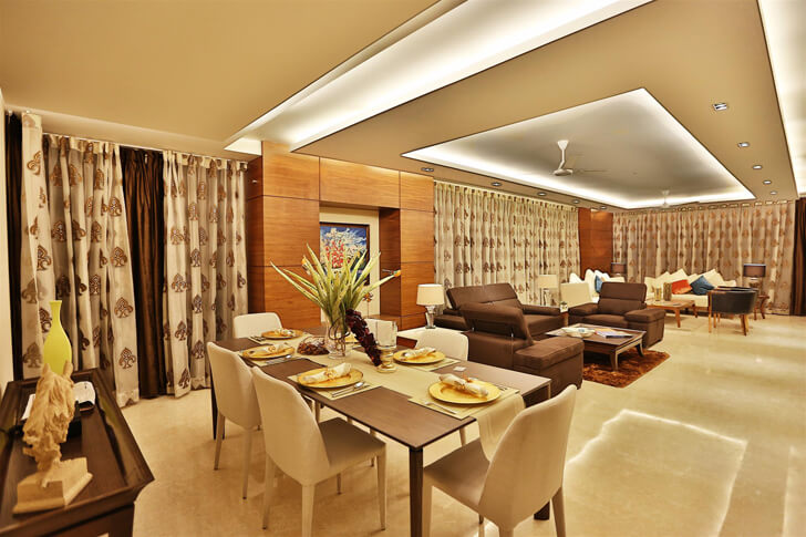 """living dining TCS Architects indiaartndesign"""