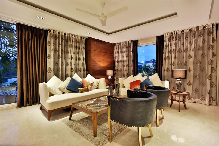 """luxurious living room TCS Architects indiaartndesign"""