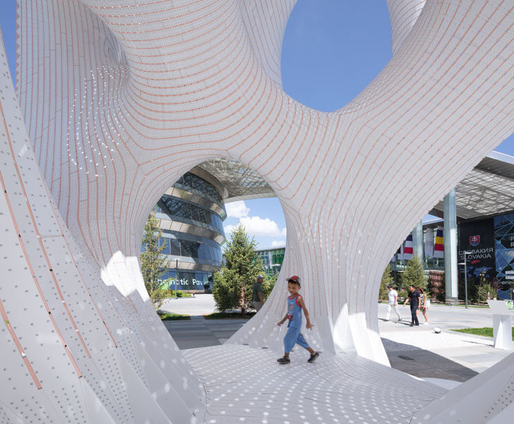 """sturdy surface Marc-Fornes theverymany installation indiaartndesign"""