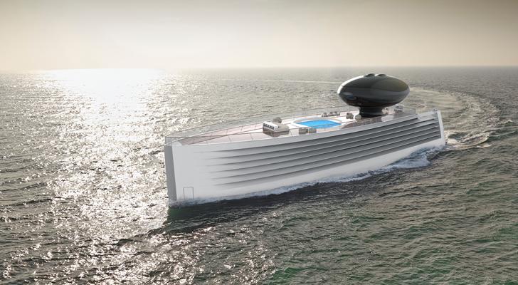 """""""luxury yacht EauTjep indiaartndesign"""""""