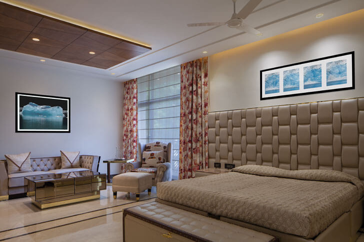 """bedroom gujral home DCA indiaartndesign"""