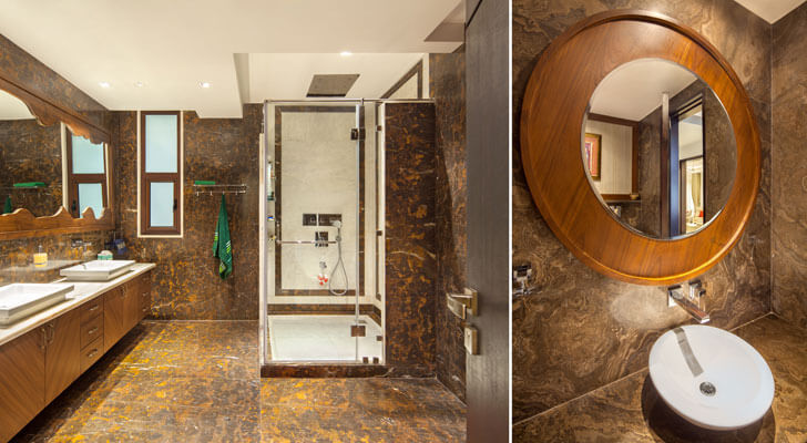 """washrooms gujral home DCA indiaartndesign"""