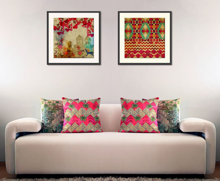 """wall art india circus festive decor indiaartndesign"""