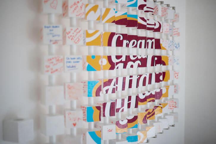 """logo cream affair goutaman prathaban indiaartndesign"""