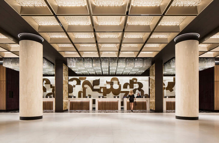 """the agora fairmont hotel sid lee arch indiaartndesign"""