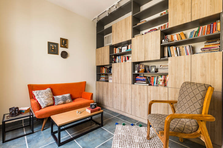 """family room surajkund residence studio wood indiaartndesign"""