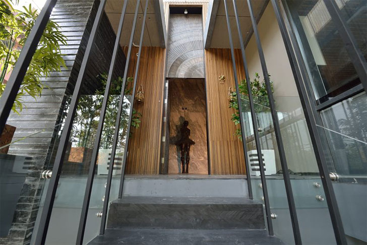 """entrance luxurious home atrey and associates indiaartndesign"""