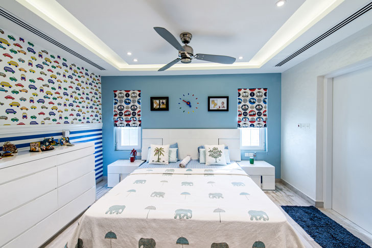 """children room dubai villa sumessh menon indiaartndesign"""
