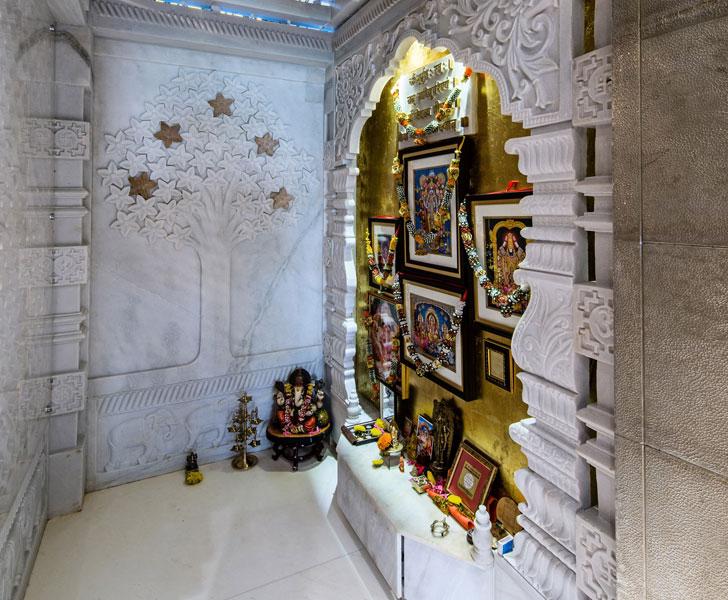 """marble temple dubai villa sumessh menon indiaartndesign"""