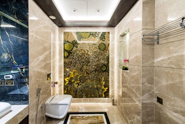 """plush bathroom dubai villa sumessh menon indiaartndesign"""
