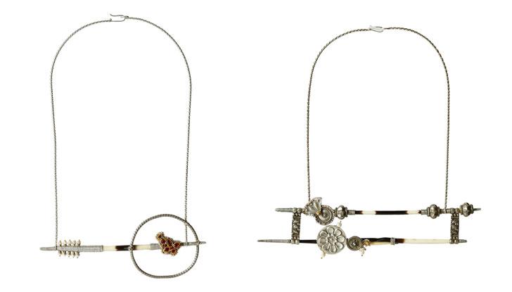 """Lara Morakhia reimagined jewellery chokers indiaartndesign"""