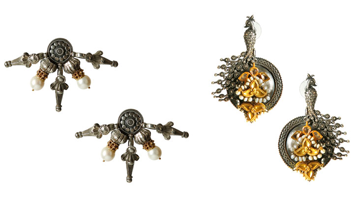"""Lara Morakhia reimagined jewellery earrings indiaartndesign"""