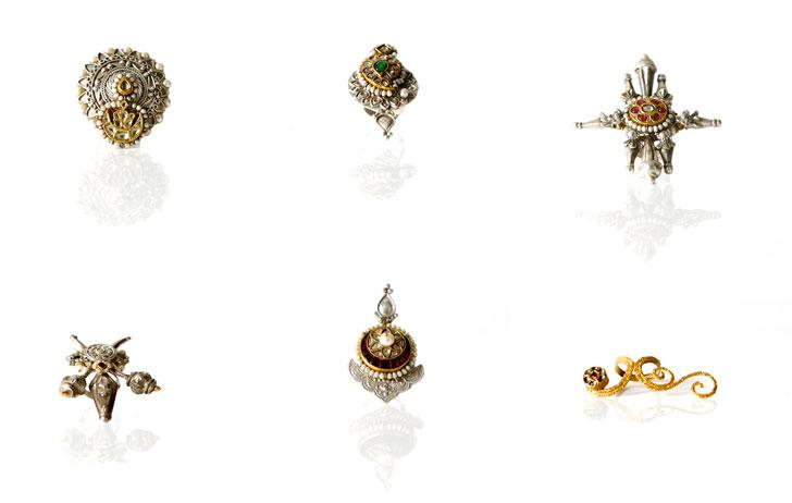"""Lara Morakhia reimagined jewellery finger rings indiaartndesign"""