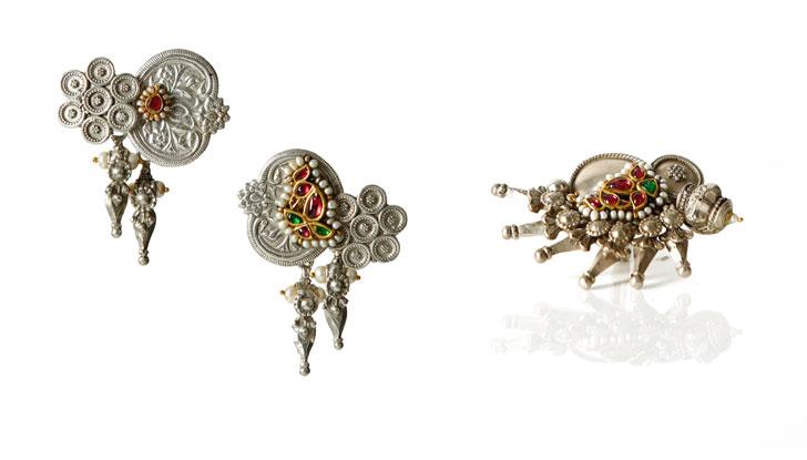 """""""Lara Morakhia reimagined jewellery set indiaartndesign"""""""