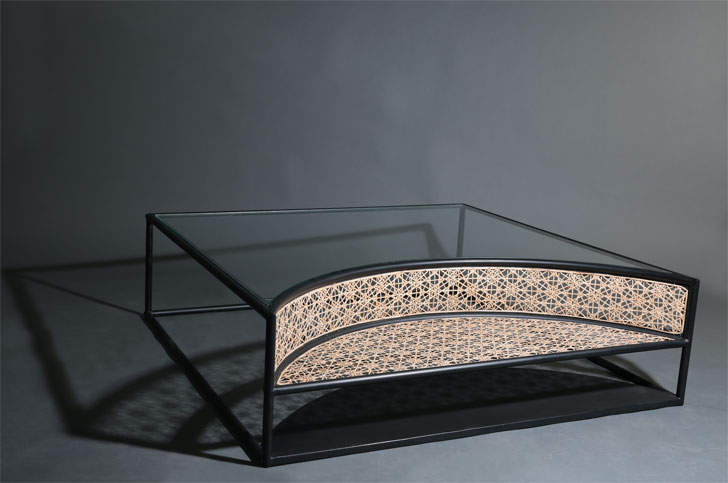 """moon coffee table studio wood milan design week indiaartndesign"""